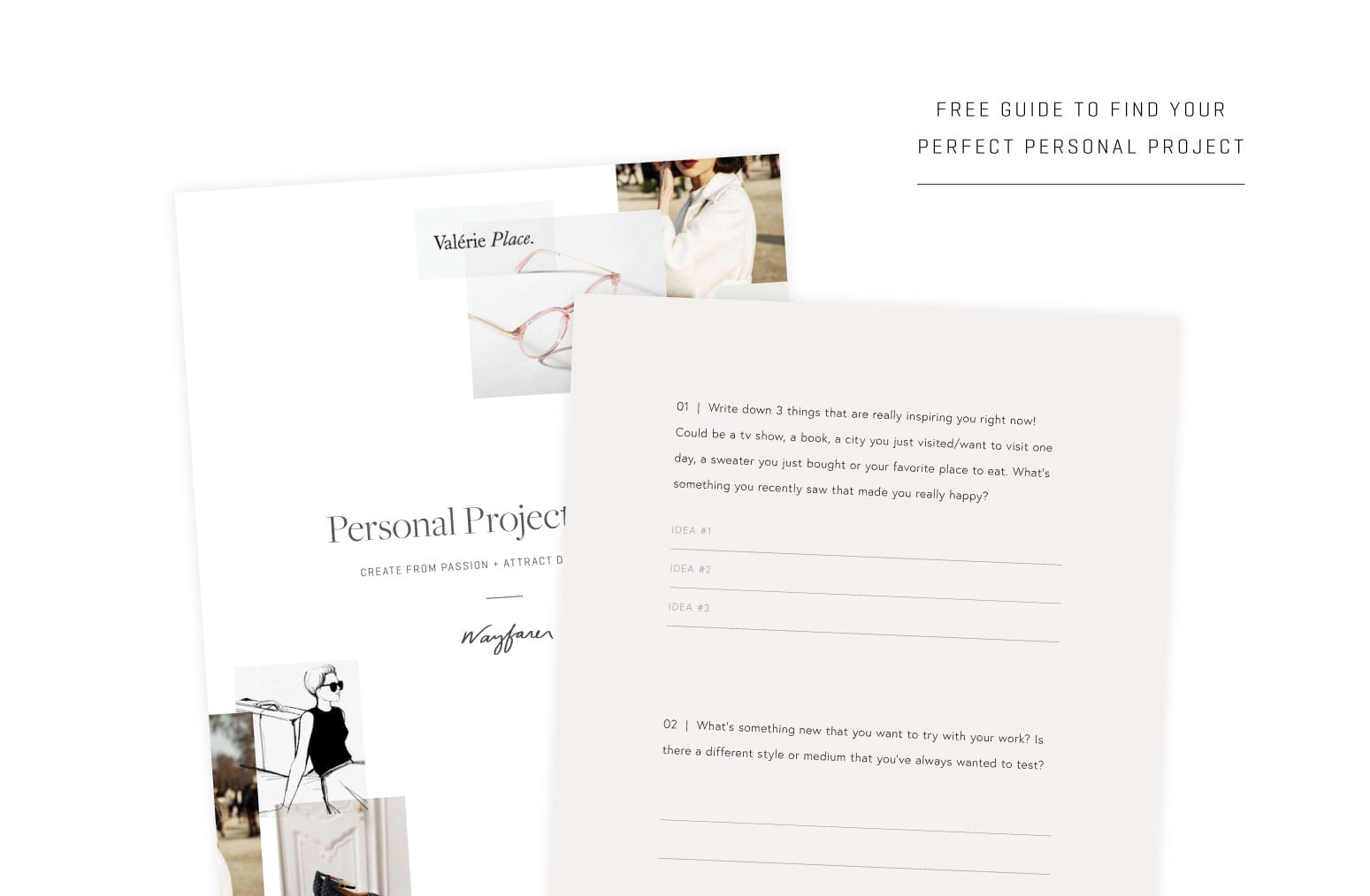 personal projects  u2013 the secret to getting dream clients